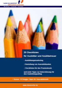 Checklisten für den Ausbildungsalltag für Ausbilder und ausbildende Fachkräfte