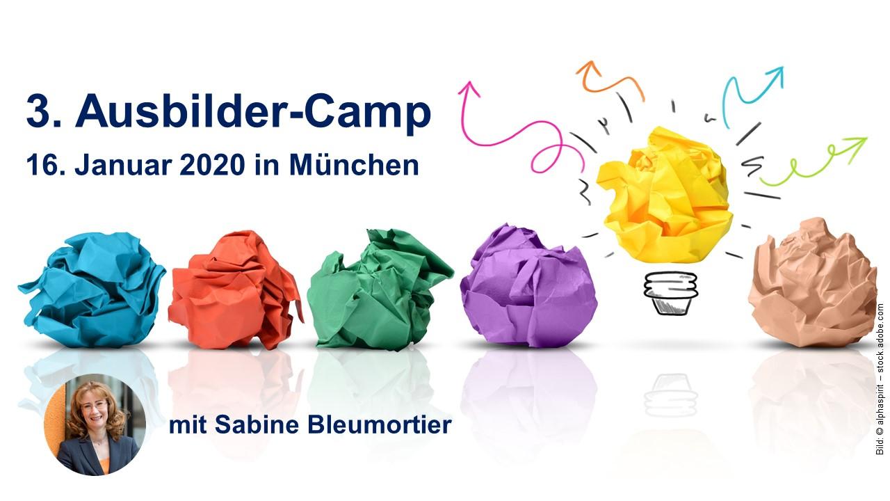 Ausbildertraining in München mit Sabine Bleumortier