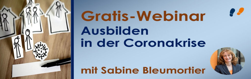 Neue Webinare für Ausbilder - Ausbilden in der Coronakrise