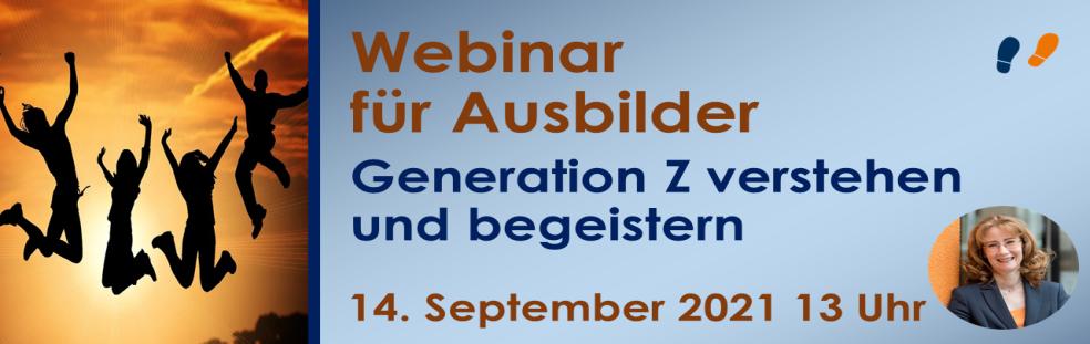 Webinar für Ausbilder Generation Z